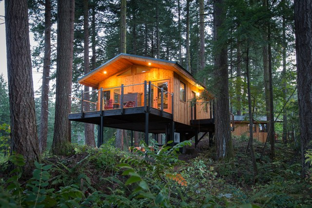 20 Incredible Tree Houses You Can Spend The Night In News Mg2