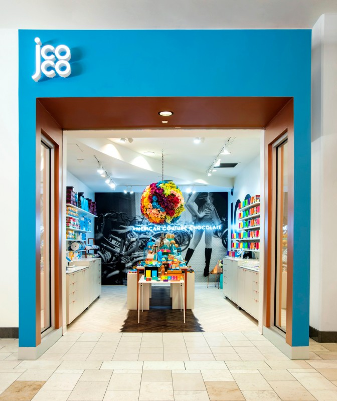 Jcoco pop-up designed by MG2