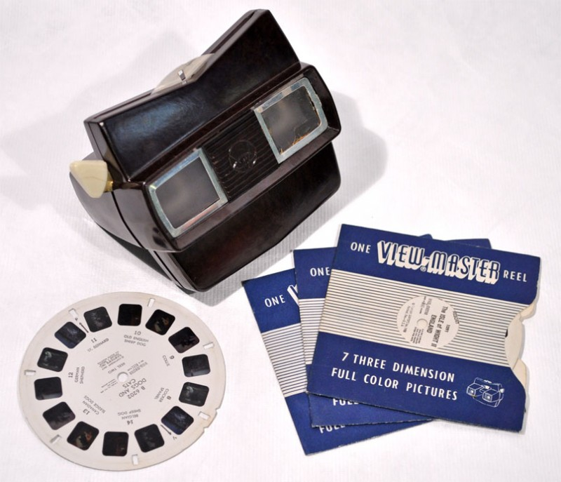 View-Master advertising the power of 3D stereoscopy