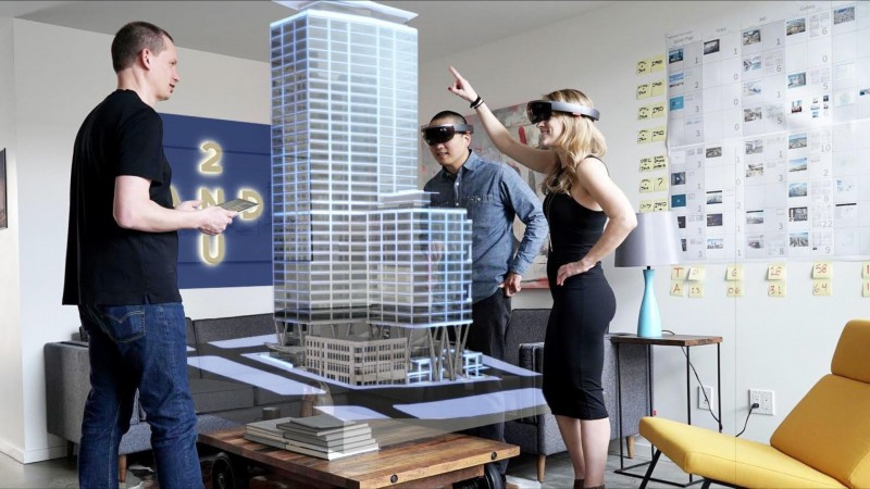 "Studio 216 and Skanska are partnering to create the ""world's first holographic real estate leasing center,"" for a high-rise office project planned for the Second Avenue and University Street in downtown Seattle."